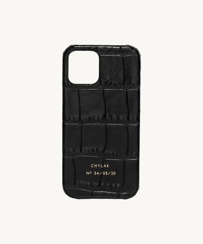 "iPhone Case ""glossy black crocodile"""