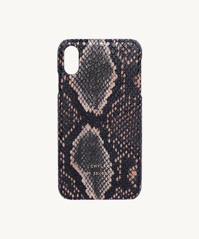 """iPhone Case """"brown python"""""""