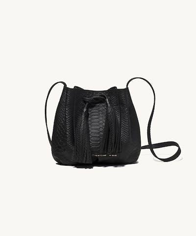 """Small Bucket Bag """"python"""""""