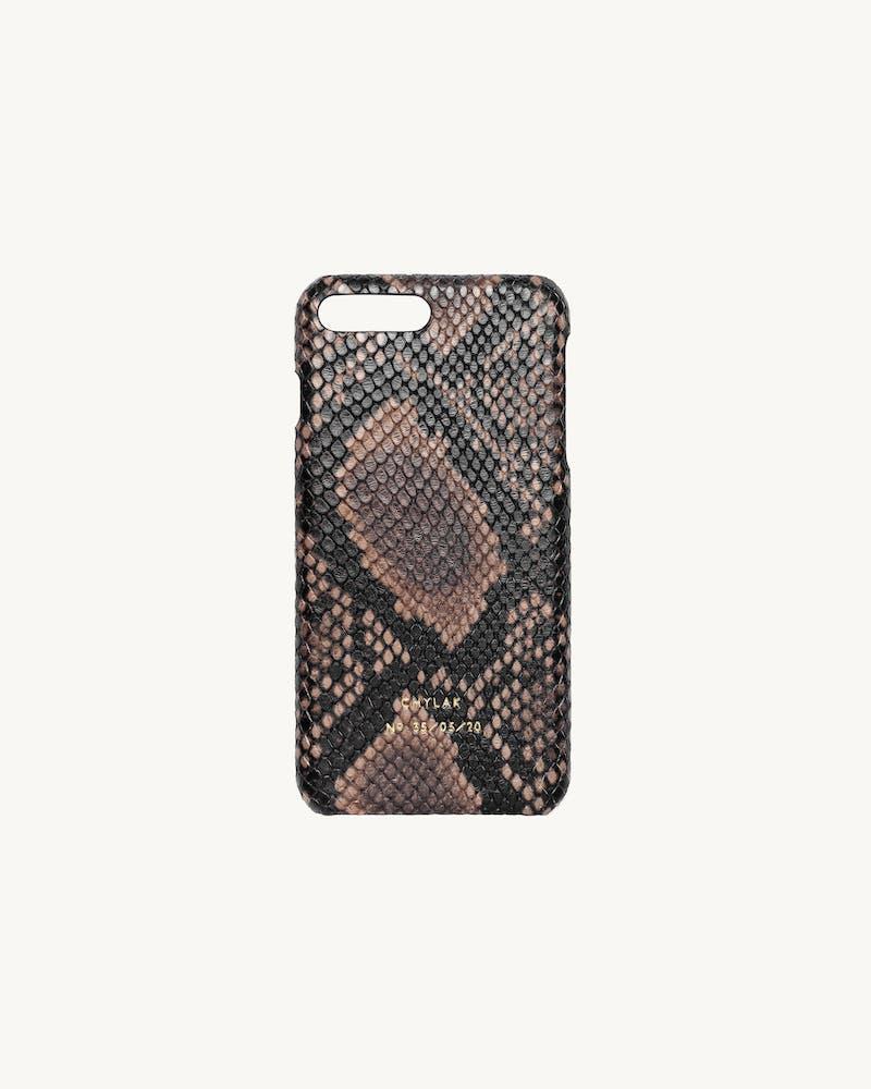 """iPhone Case """"Brown Python"""" #1"""