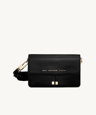 """Shoulder Bag """"glossy black"""""""