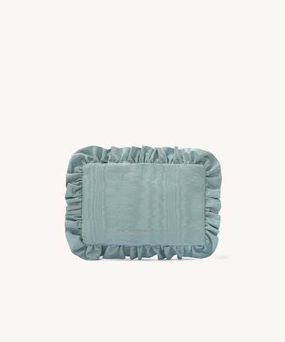 Pillow Clutch Moiré Blue