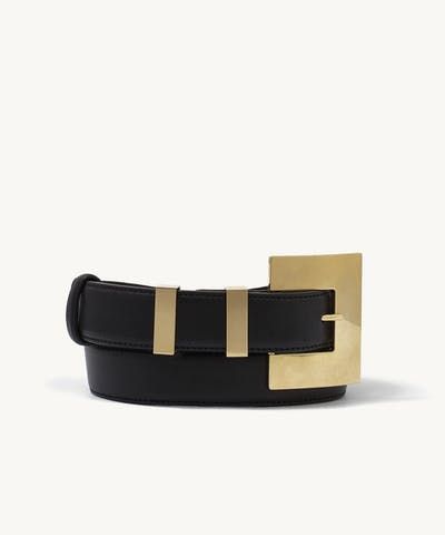 Big Buckle Belt Black