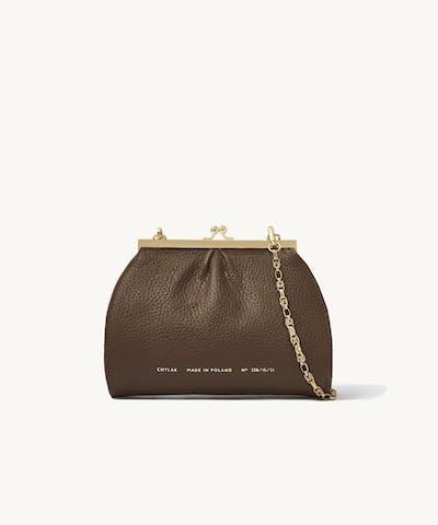 """Small """"Vintage"""" Bag """"Café-Au-Lait"""""""